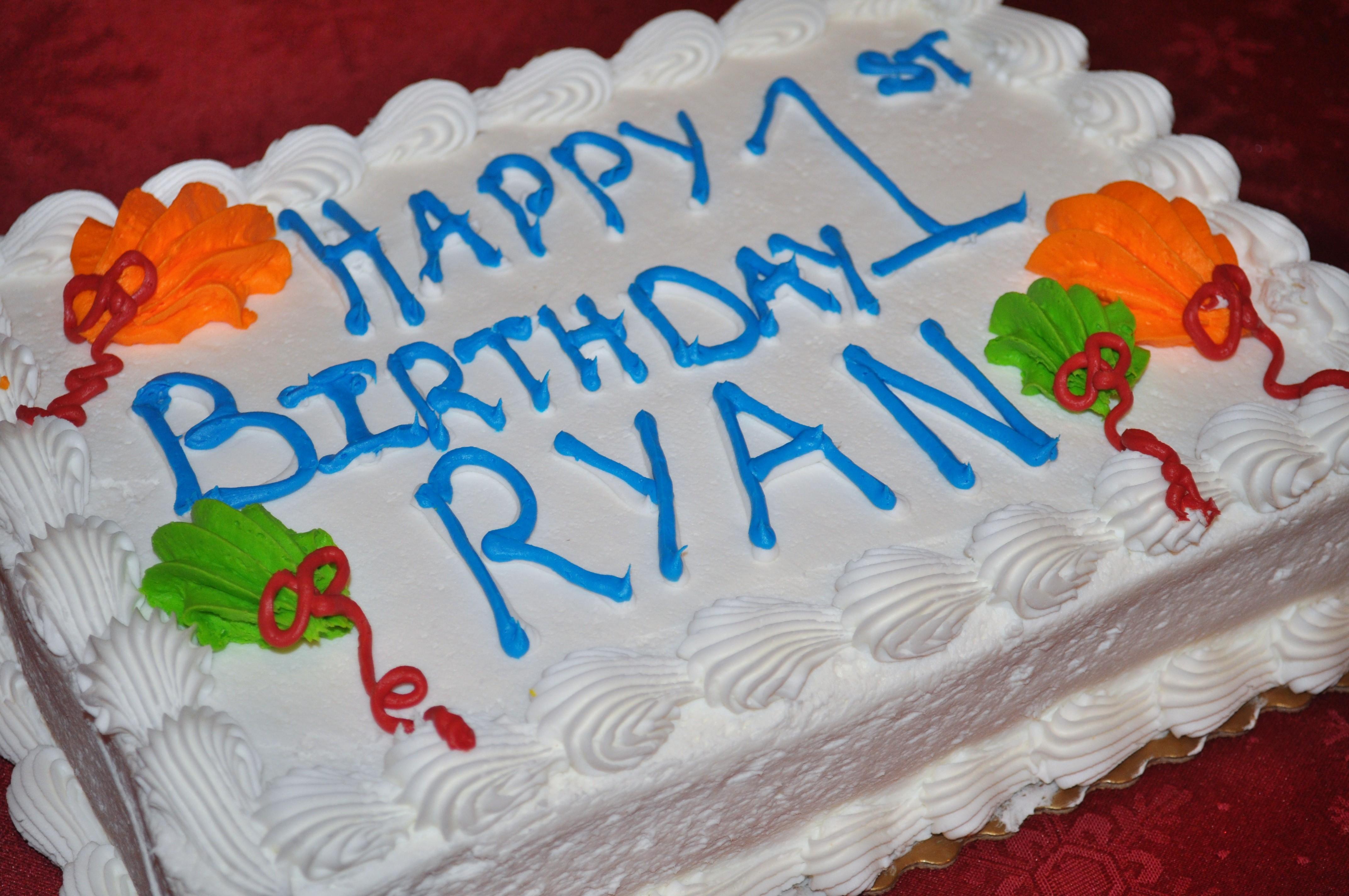 Ryans Birthday Part 2 Cake Smashing Baby Dickey Chicago Il