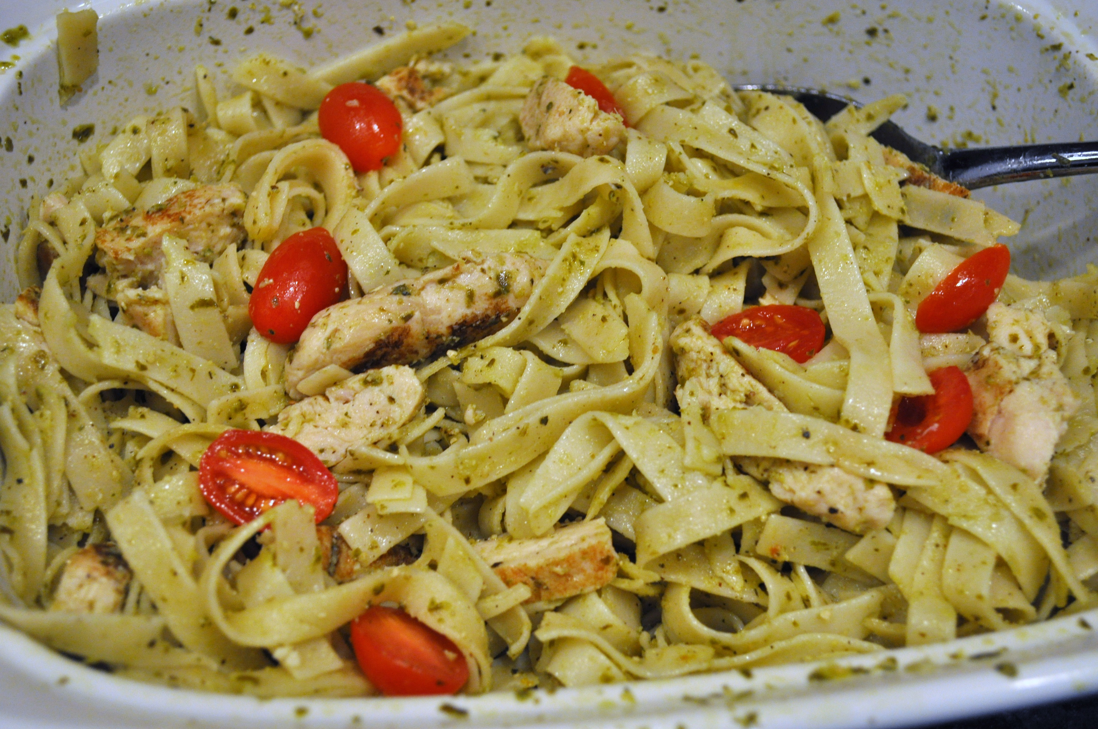 chicken pesto pasta: #GrilledEssentials - Baby Dickey ...