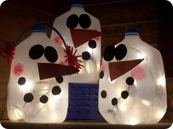 snowmen crafts