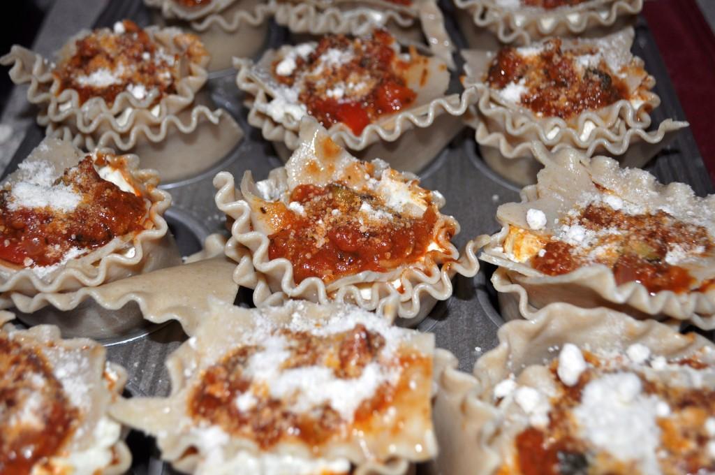 Lasagna Cupcakes recipe