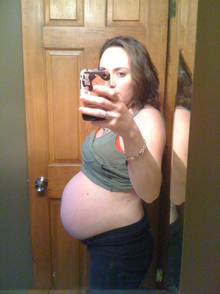 38 weeks pregnant inducing labor