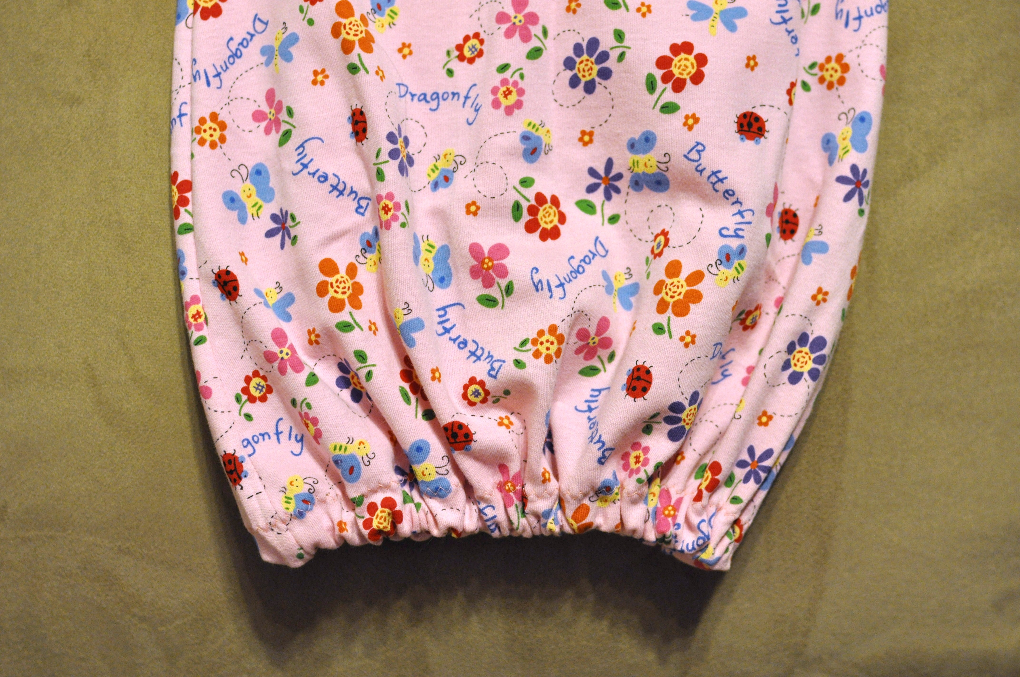 Craft time: homemade crib sheets and baby gowns