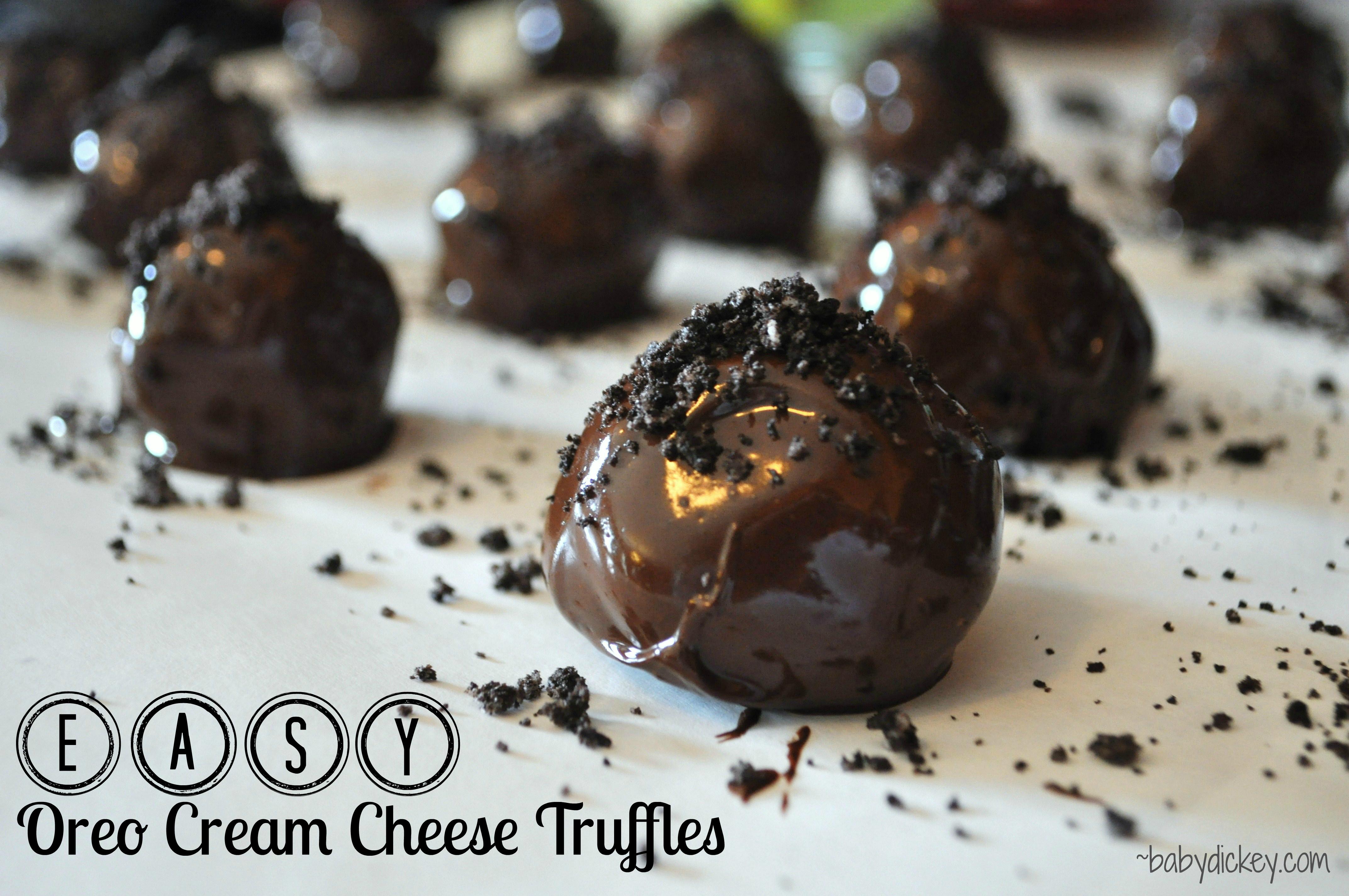 ... truffles the easy way easy chocolate truffles oreo cake oreo cake oreo