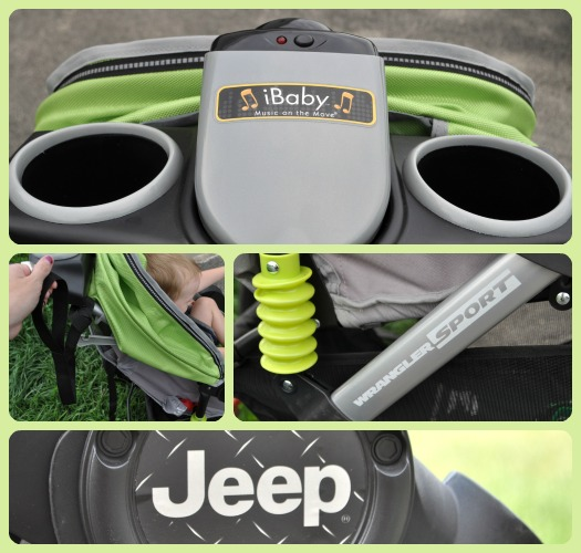 Body After Baby J Is For Jeep Wrangler Sport Jogging Stroller