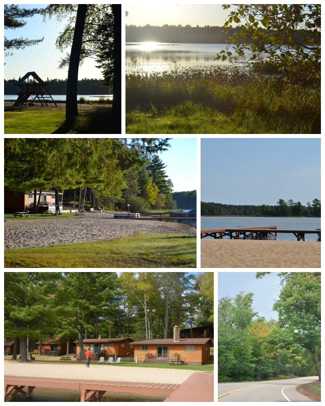 serenity bay resort in st germain wi