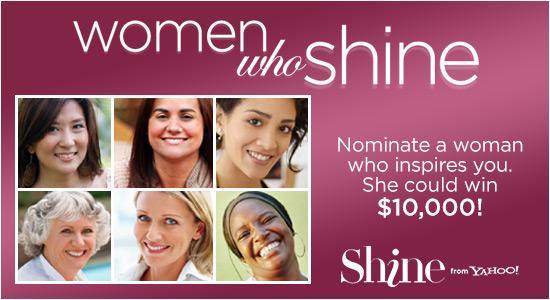 women who shine