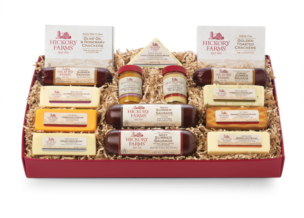 Hickory farms gifts charitable giving