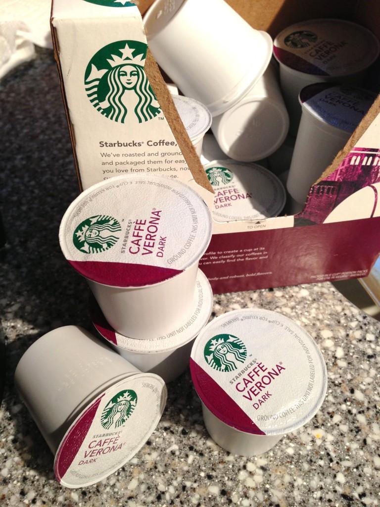 starbucks k-cups