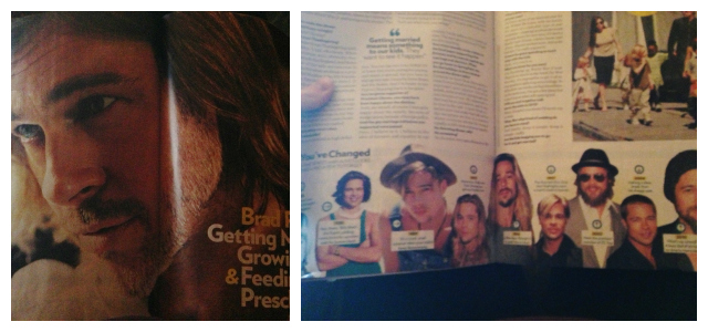 brad pitt in PEOPLE Magazine