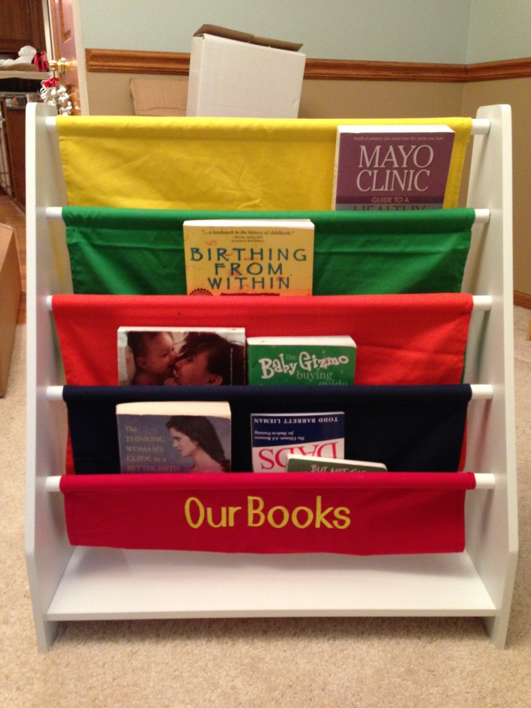 Canvas Bookcase This bookcase came from