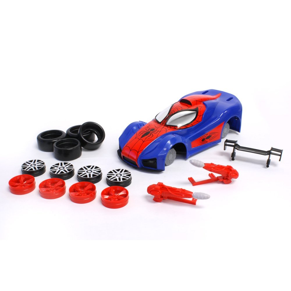 spiderman car kit