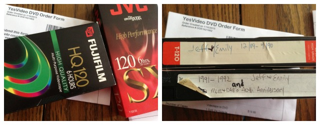 VHS transfer services