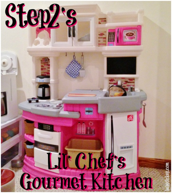 Step2\'s Lil\' Chef\'s Gourmet Kitchen - Baby Dickey review