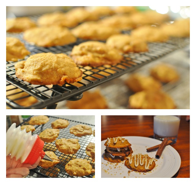 Pumpkin Spice Cookies With Chocolate Glaze Recipes — Dishmaps