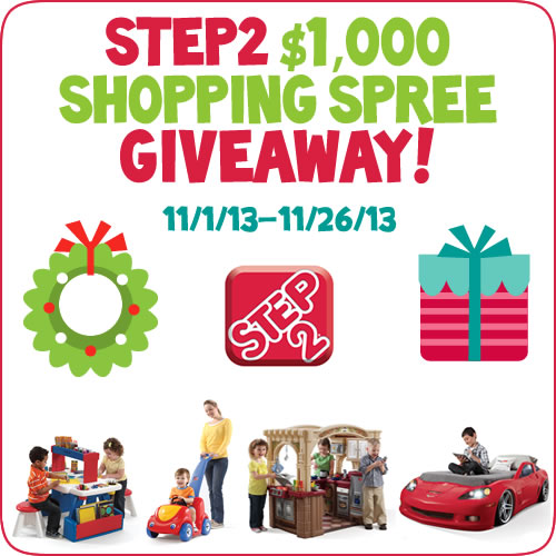 Step2ShoppingSpreeGiveaway_Nov20131