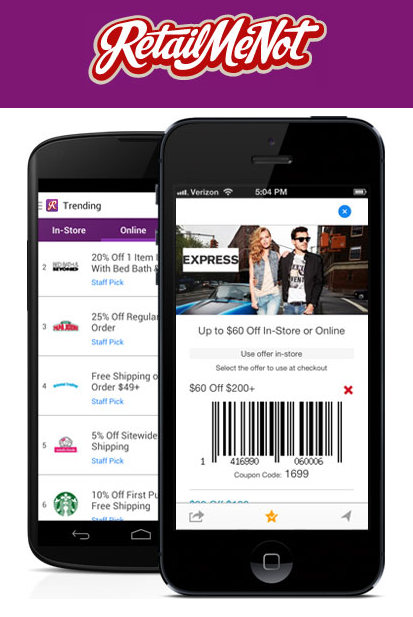 Mobile coupon app uk