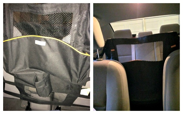 back seat barrier for dogs