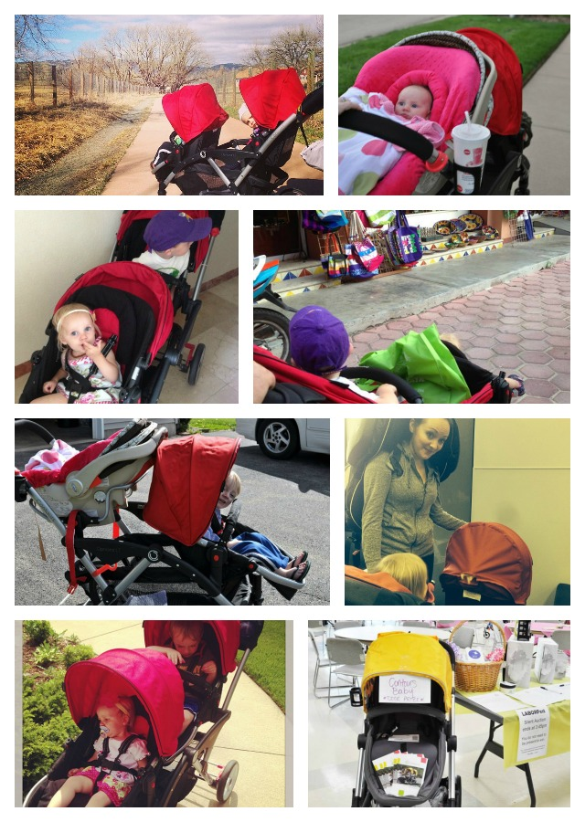 Contours strollers