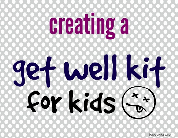 get well kit for kids