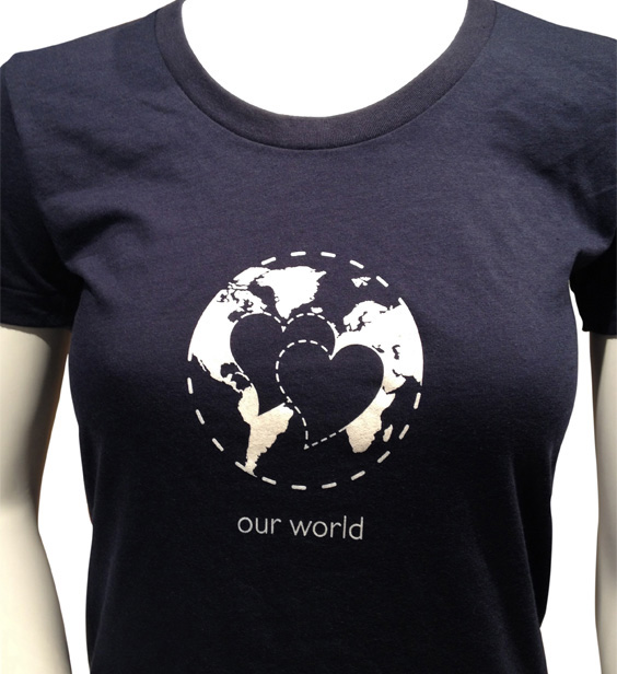 Circle of Love: Our World t-shirt