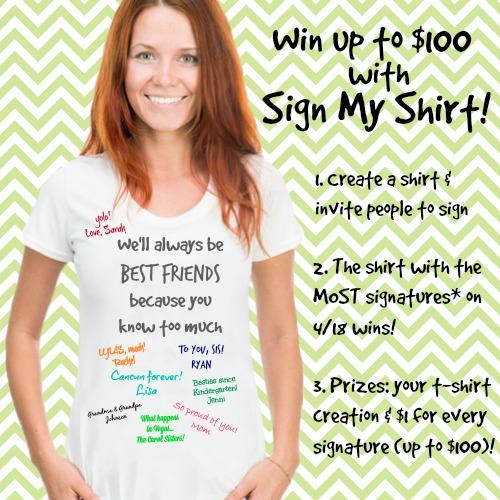 Sign My Shirt