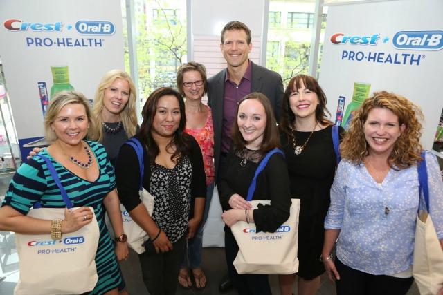 Dr. Stork Crest Pro-Health Event