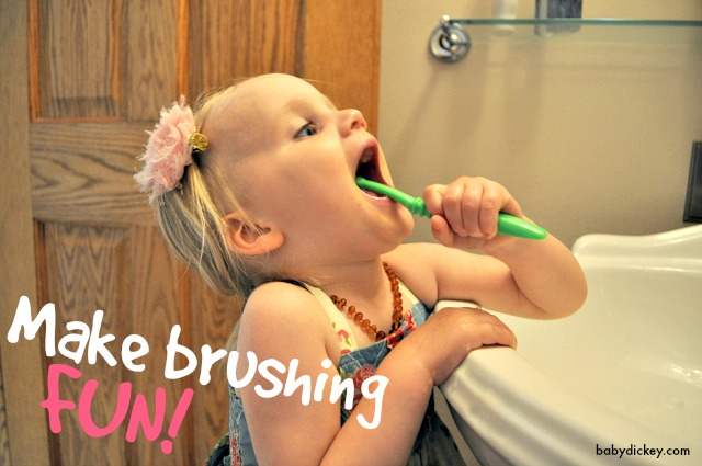 help kids brush: make it fun