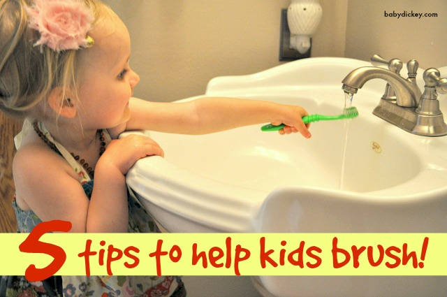 help kids brush