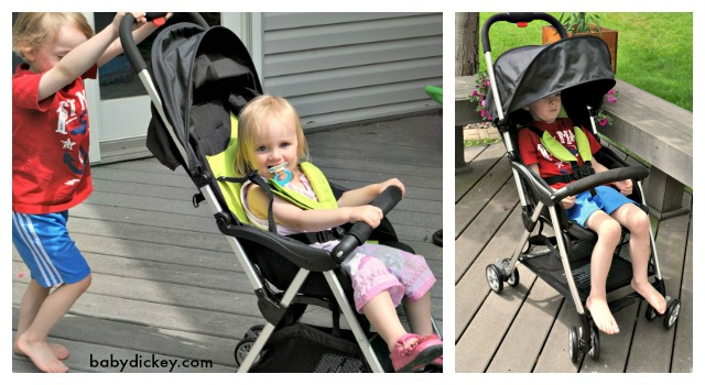 lightweight stroller by Urbini