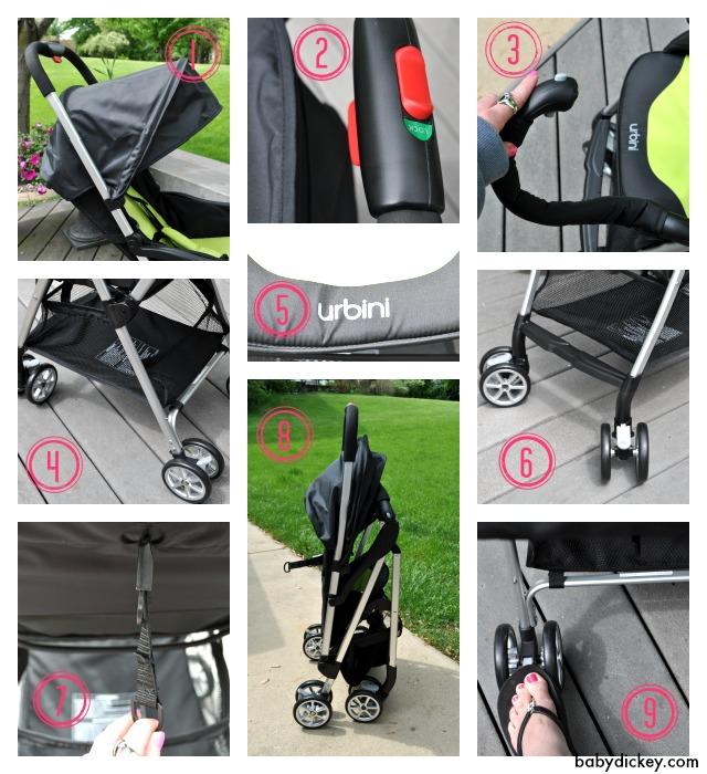 urbini hummingbird lightweight stroller