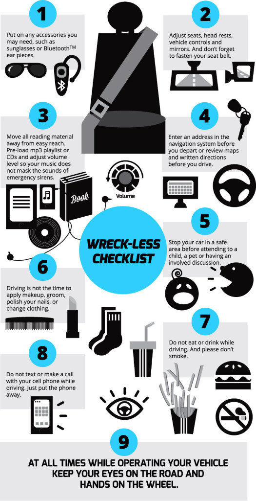 distracted driving checklist