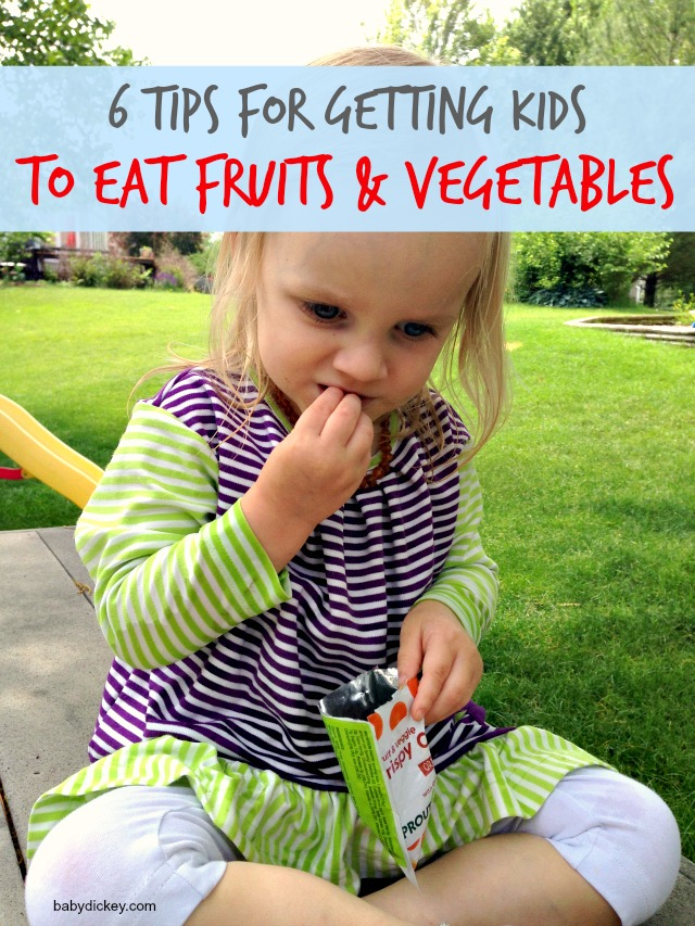ways to get kids to eat fruits and vegetables