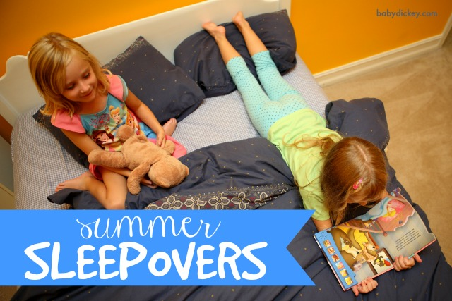 summer sleepovers