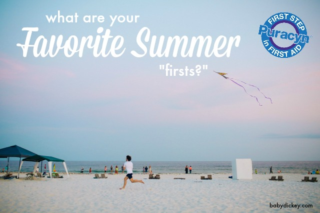 summer firsts