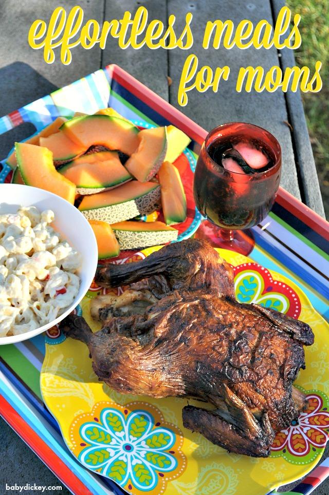 effortless meals for moms