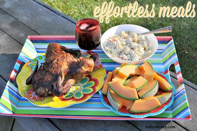 effortless meals
