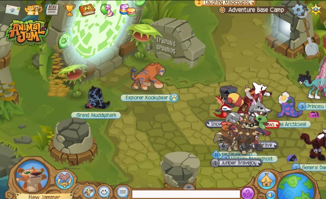 animal jam interactive online game