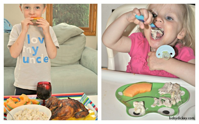 kids eating effortless meals