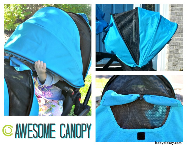 Options Elite Tandem canopy