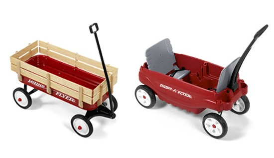 Customize Your Ride With A Radio Flyer Wagon Baby Dickey