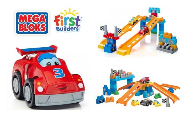 Mega Bloks Fast Tracks Raceway