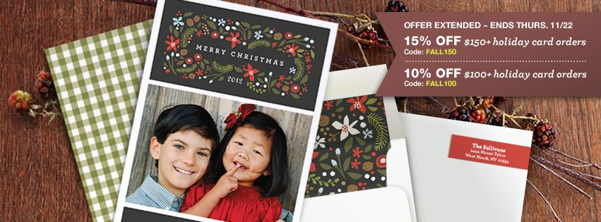 Minted holiday gifts
