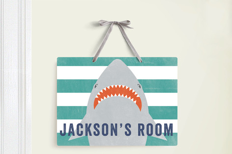 Minted room sign