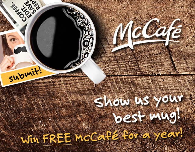 McCafe for a year