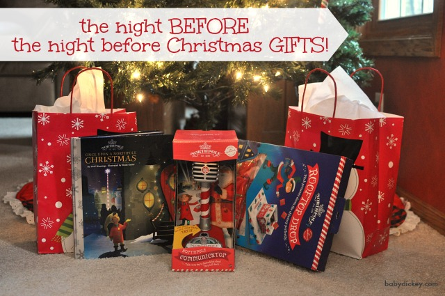 night before the night before Christmas gifts
