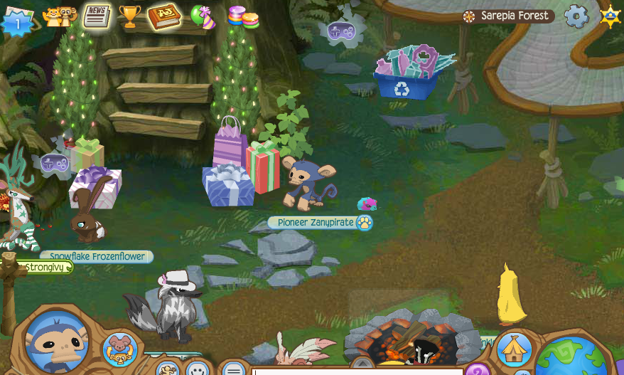 Animal Jam Jamaalidays