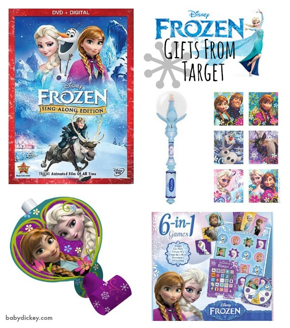 FROZEN gifts from Target