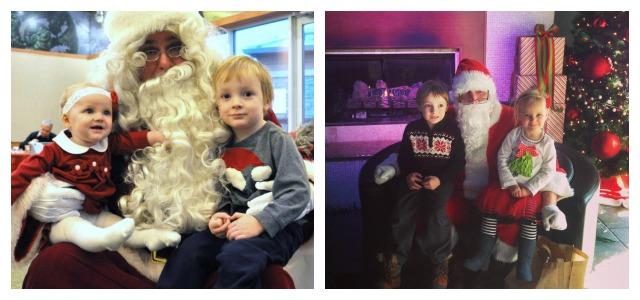 Visiting Santa - Christmas Traditions