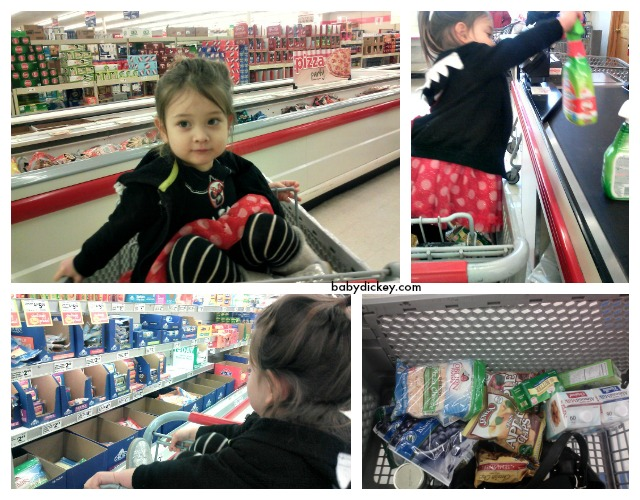 Shopping at Save-A-Lot