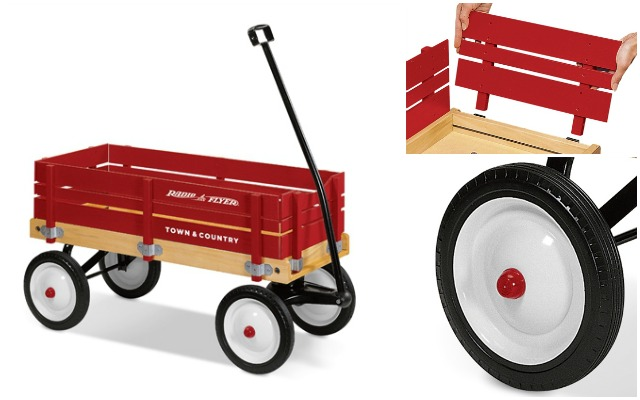 Town and Country Radio Flyer wagon